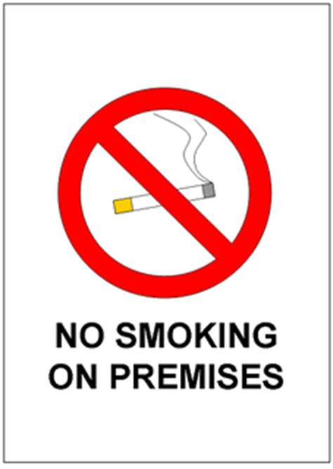 no smoking sign template excel templates free download