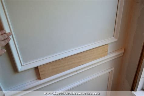 How To Make Wainscoting With Moulding how to install picture frame moulding the easiest wainscoting style