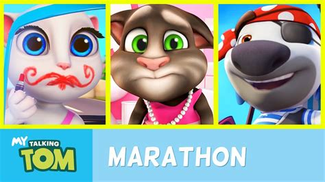 talking tom talking tom shorts ultra marathon all episodes