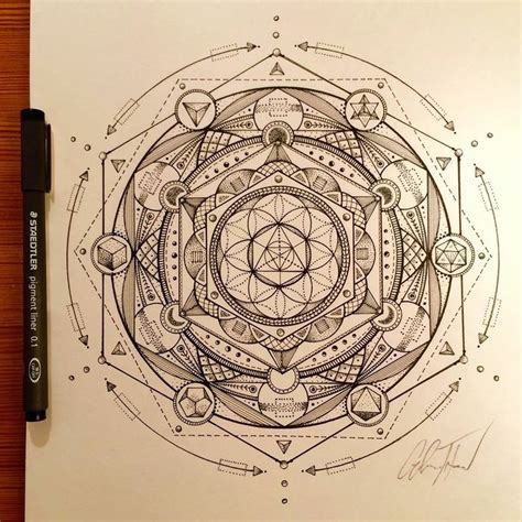 sacred geometry tattoo artist glenn thomson sacred geometry and mandalas