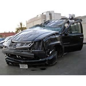Cadillac Escalade Crash Cadillac Escalade In Kuwait