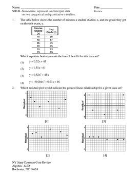 Pdf Geometry Common Regents Review Packet ny regents common algebra statistics review