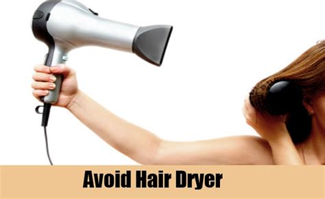 Hair Dryer To Fix Water Damage how to repair damaged hair naturally care health