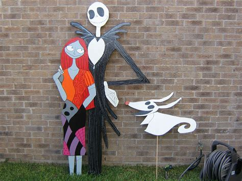 skellington decorations nightmare before project part 2 the rest of it