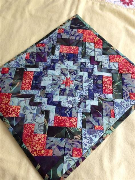Folded Patchwork Patterns - patchwork and on