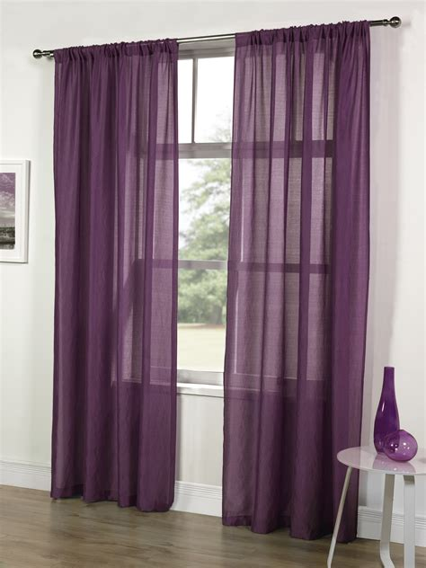range net curtains ready made voile panel single net curtain slot top fitting