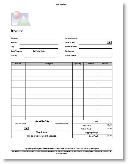 8 editable invoice template pdf short paid invoice