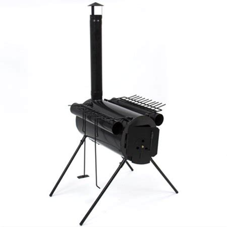 choice products portable military steel camping wood