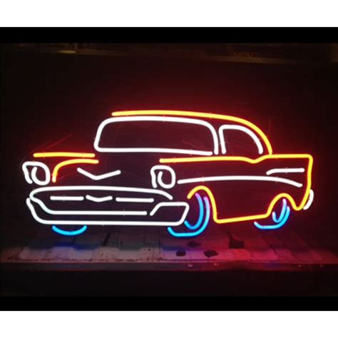 Neon Bar Lights by Classic Car Neon Bar Sign