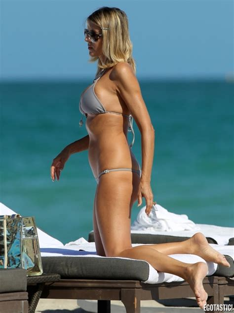 hot actress rita rusic gray bikini pictures  miami