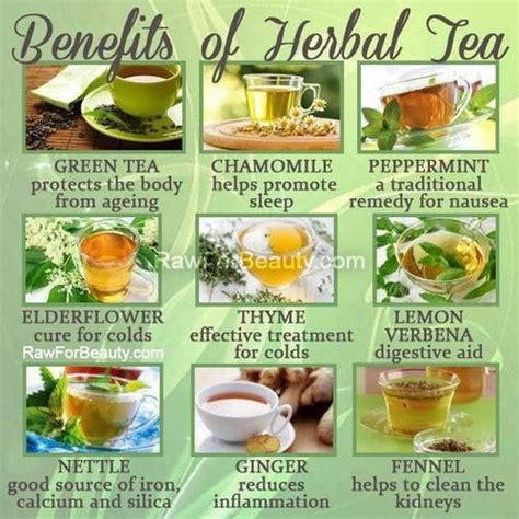 Benefits Of Herbal Detox by Herbal Tea Benefits Chart Found On The More U