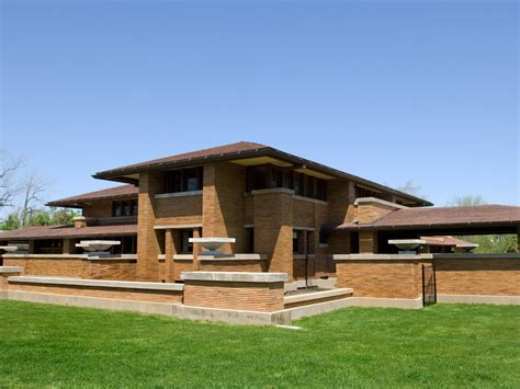 modern exterior furniture frank lloyd wright furniture exterior modern with brick