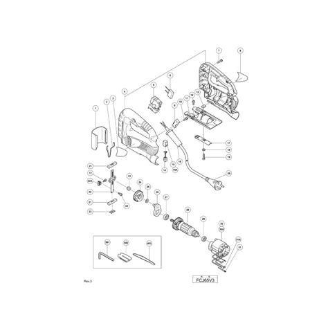 Fcj65v3 Gergaji Jigsaw Hitachi hitachi spare parts for jigsaws fcj65v3 cj90vst 110mv 110mva