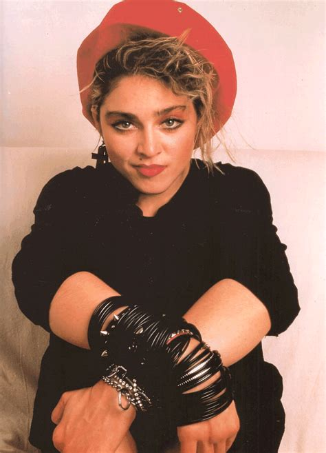 Madonna   Fashion Icon of the 1980's   I'm A Child Of The 80's   Pinterest