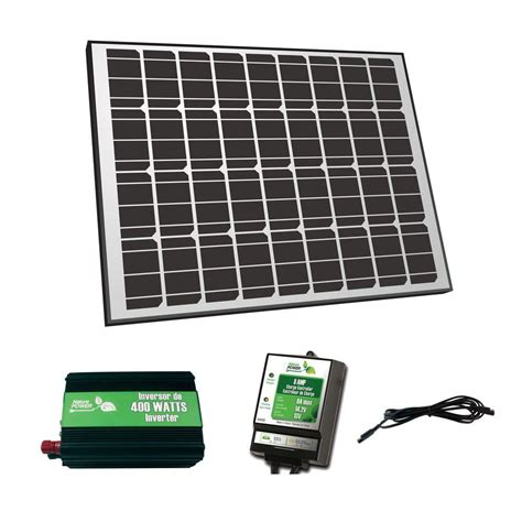 nature power 85 watt solar panel grid charger kit