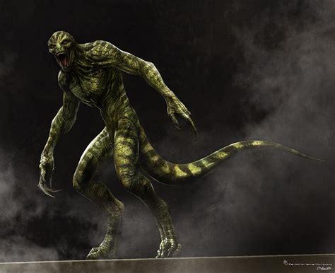 the human lizard fashion and lizard of oscorp amazing spider
