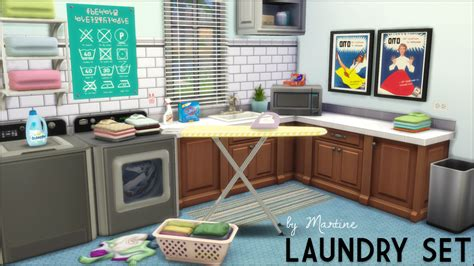Sims 4 Set Cc   want laundry in the sims 4 you ll have to make some noise
