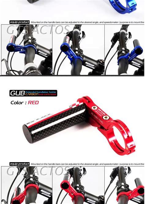 Handlebar Sepeda Mtb road bicycle mtb bike handlebar extensions mount gub g329