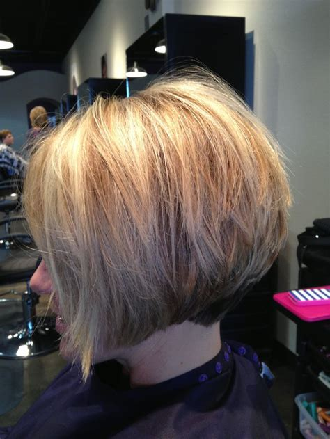 pictures of very short stacked inverted bob hairstyles for women inverted stacked bob short hair pinterest