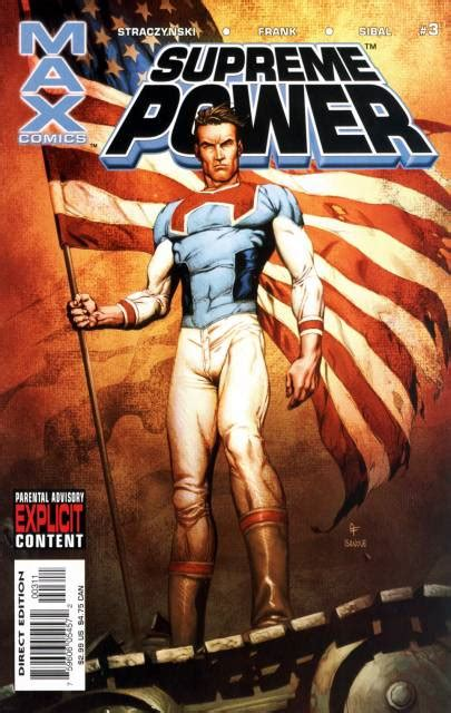 supreme power supreme power volume comic vine