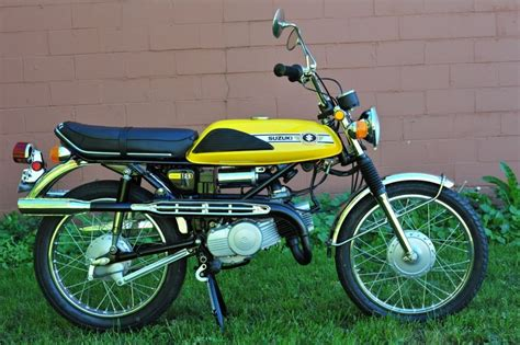 restored suzuki t125 stinger 1971 photographs at classic