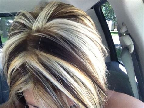 long hair big chunck color ideas for summer contrast hair color chunks google search hair