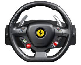 Steering Wheel For Xbox One Need For Speed 458 Italia Steering Wheel Recreated For Xbox 360