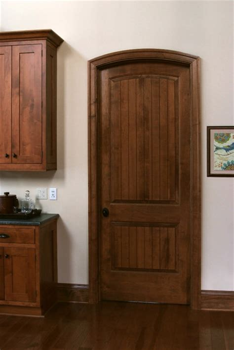 Solid Maple Sante Fe 8 Ft Interior Door Craftsman 8 Foot Interior Door