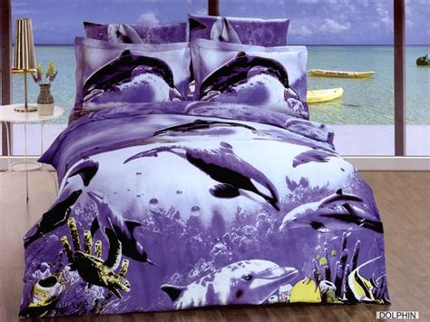 Dolphin Bed by Dolphins Bedding And Bed Sheets On