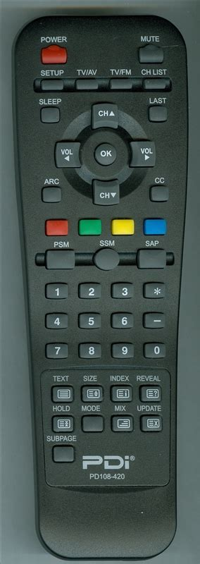 Pdi Help Desk by Pdi Pd108 420v2 Genuine Oem Original Remote
