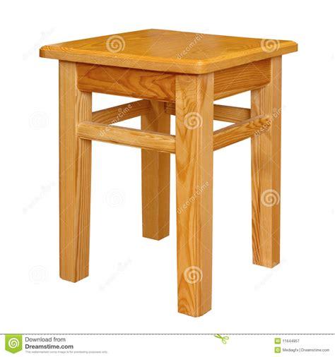 Pallet Chair Tamborete De Madeira Simples Isolado Fotografia De Stock
