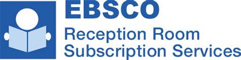 ebsco reception room ebsco provision network