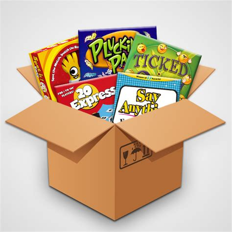 Box Giveaway - big box o party games giveaway casual game revolution