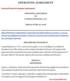 Member Managed Llc Operating Agreement Template Operating Agreement Template Madinbelgrade