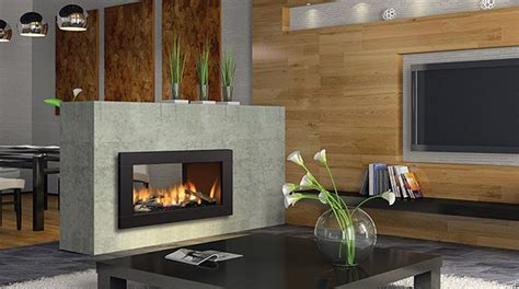 regency hz42ste contemporary see thru gas fireplace