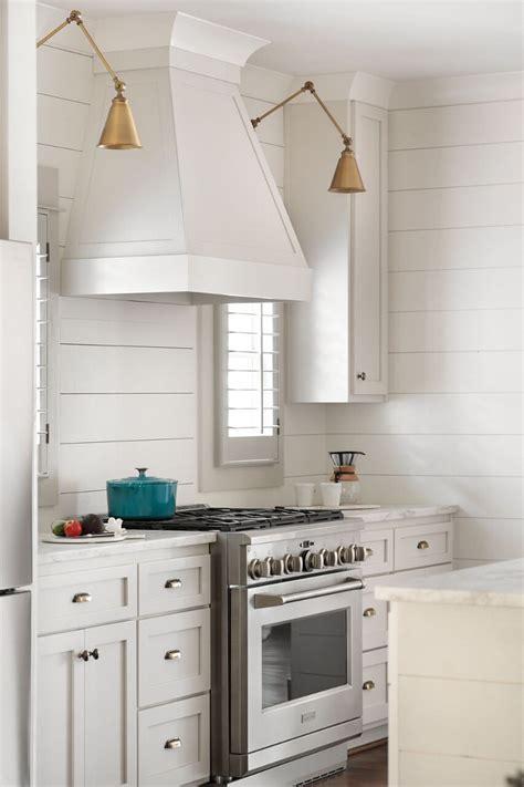 shiplap kitchen hood modern craftsman farmhouse design home bunch interior