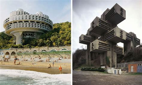 soviet brutalist architecture photographed  frederic chaubin