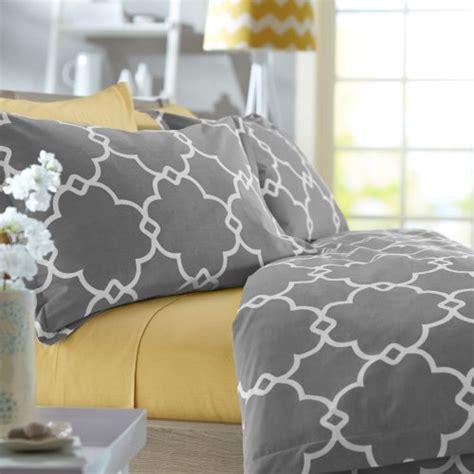 Pinzon Duvet Cover Pinzon 300 Thread Count 100 Percent Cotton Lattice Duvet