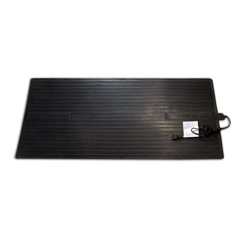 Heated Rubber Floor Mats - winter warmth heated floor mats anti fatigue anti slip