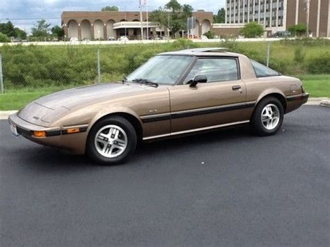 hayes car manuals 1985 mazda rx 7 seat position control buy used 1985 mazda rx 7 gsl coupe 2 door 1 1l in amherst ohio united states for us 10 500 00