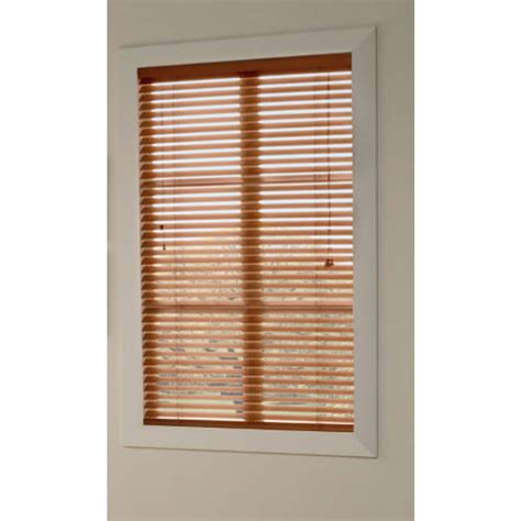Custom Wood Blinds Shop Custom Size Now By Levolor Pine Faux Wood 2 In Slat