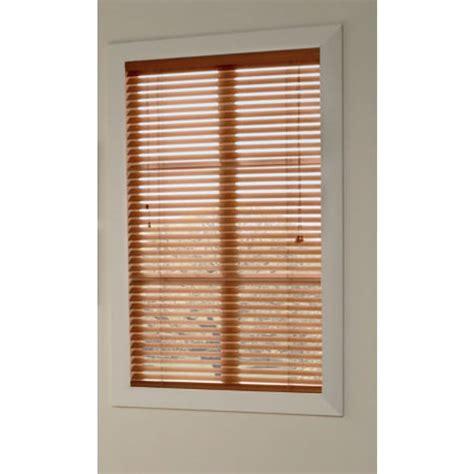 Custom Wood Window Blinds Shop Custom Size Now By Levolor Pine Faux Wood 2 In Slat