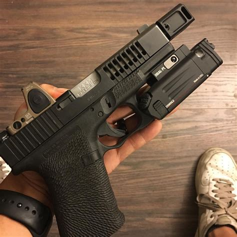glock  gen   mm conversion las concealment