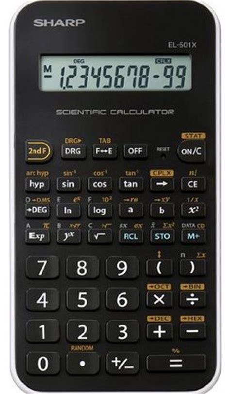 Sharp Calculator El 501x Scientific Kalkulator Kuliah El 501 X sharp calculators