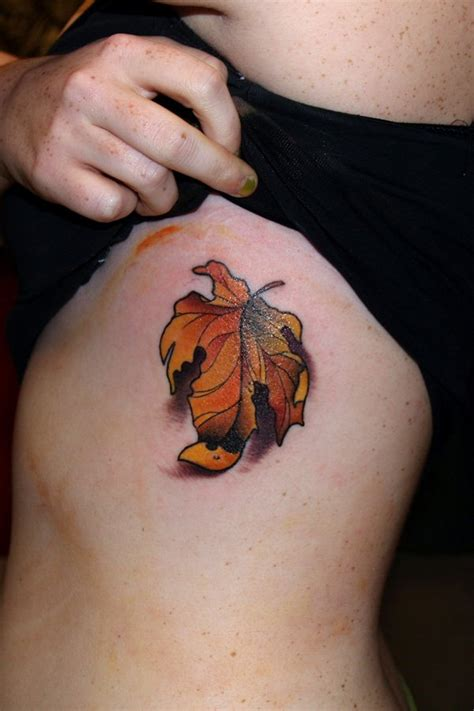 the gallery for gt fall leaves tattoo