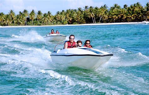 excursion catamaran tours point half day in bavaro speedboats adventure punta cana bavaro dominican