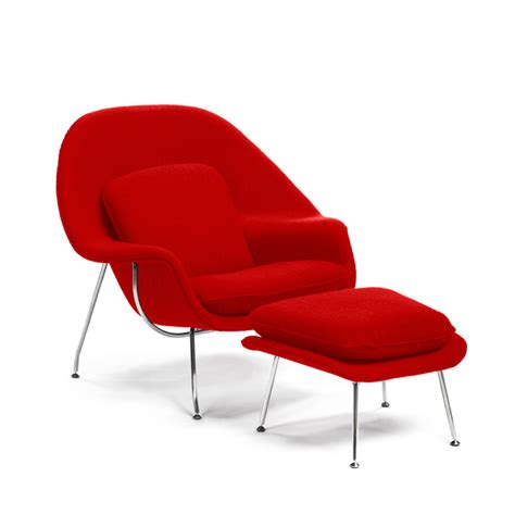 Womb Chair Reproduction by Womb Chair Ottoman Replica Manhattan Home Design