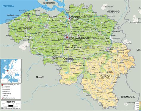 map of belgium with cities maps of belgium detailed map of belgium in