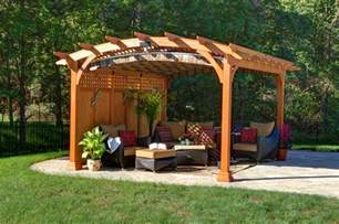 What Is A Gazebo What Is A Pergola Byler Barns