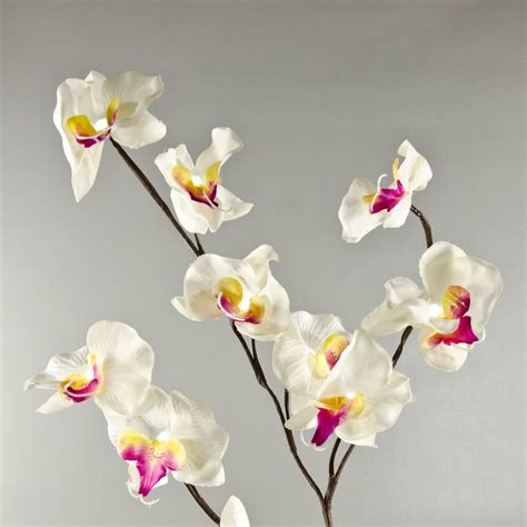 60 quot led orchid garland string lights wholesale flowers